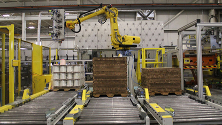 Eclipse Automation Robot Palletizing