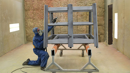 Eclipse Manufacturing Shot Blasting and Painting